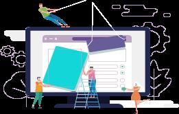 طراحی وب سایت آسان