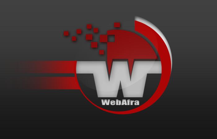 طراحی لوگو گروه طراحی وب افرا ( وب افرا )