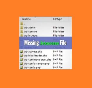 چرا شما نمیتوانید فایل htaccess. را پیدا کنید