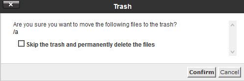 حذف یک فایل یا پوشه در سی پنل