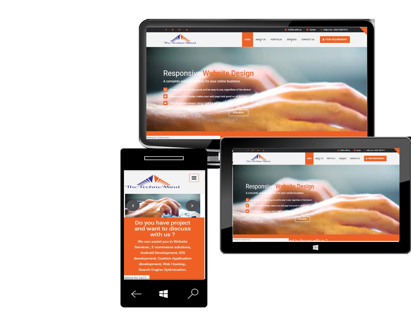 شرکت طراحی سایت و اپلیکیشن