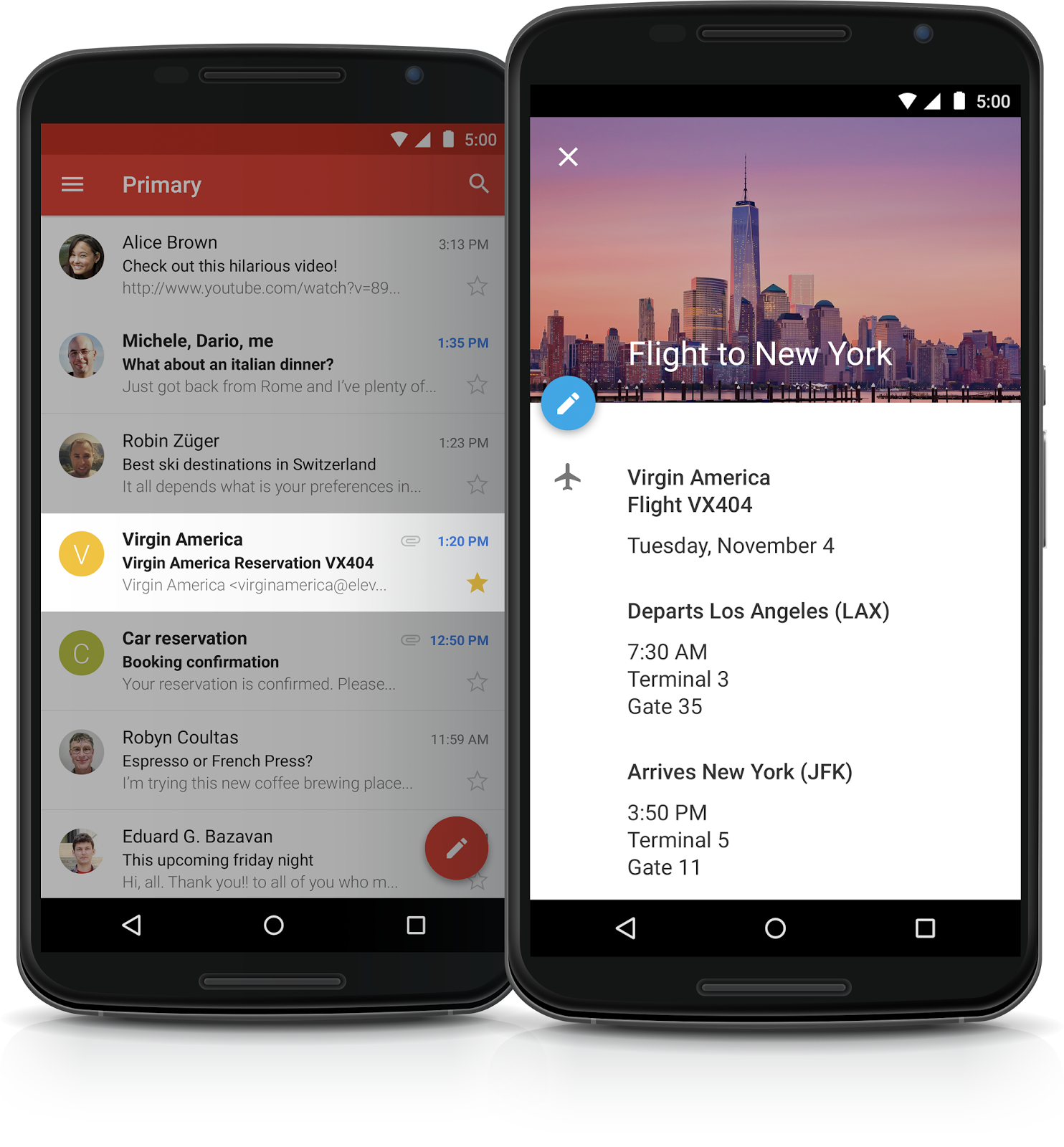 Google Calendar Android Material Design 0011