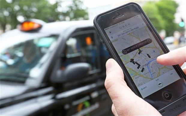 طراحی اپلیکیشن تاکسی یاب