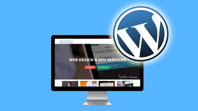 طراحی وب سایت با وردپرس و توسعه ی آن