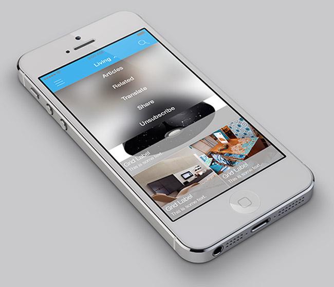 طراحی اپلیکیشن حرفه ای