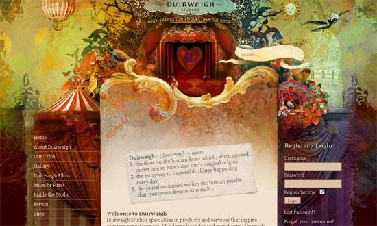 ۱۰ فضای غیر معمول برای ایده گرفتن در طراحی وب سایت