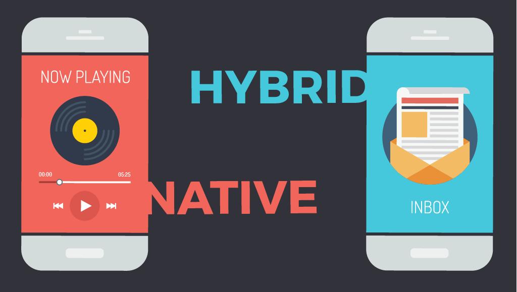 طراحی اپلیکیشن Native و Hybrid چیست؟