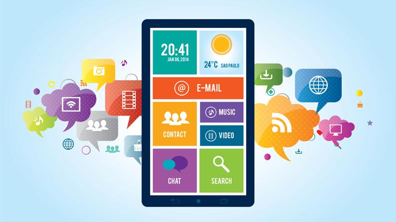 طراحی اپلیکیشن موبایل در شهر اصفهان