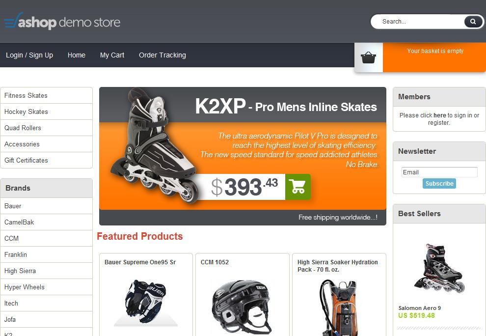 طراحی سایت فروش کالا و خدمات