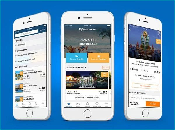طراحی اپلیکیشن برای هتل ها