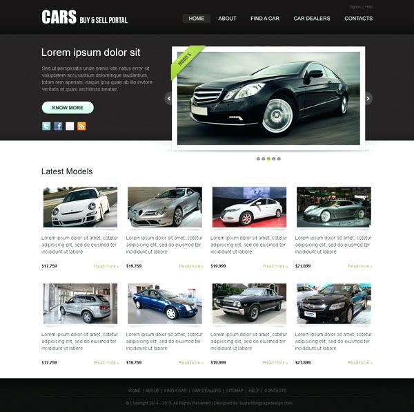 ساخت سایت برای فروشگاه خودرو