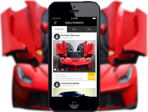 طراحی اپلیکیشن فروش خودرو