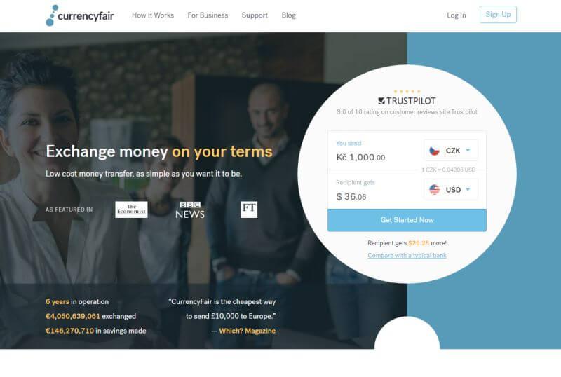 طراحی وب سایت صرافی