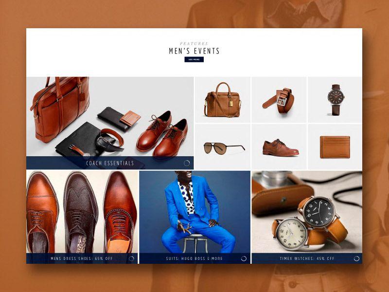طراحی سایت کیف کفش لباس