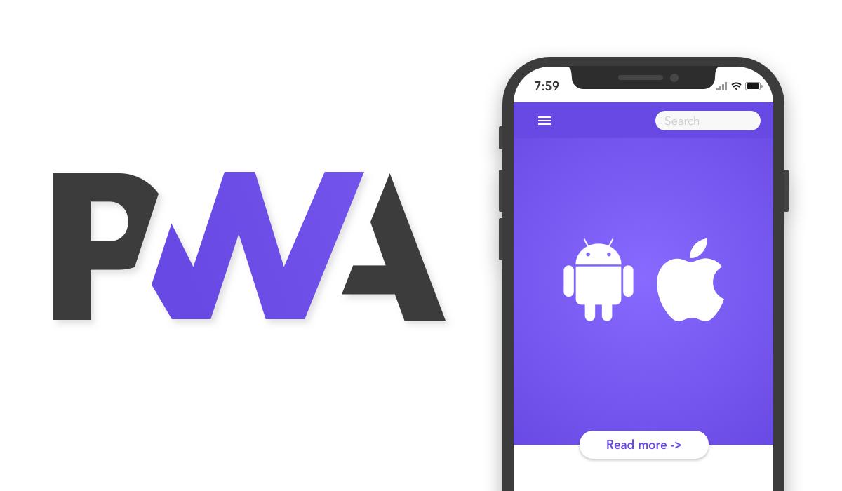 طراحی وب اپلیکیشن pwa