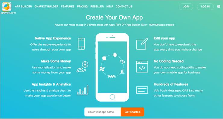 نرم افزار طراحی اپلیکیشن AppyPie