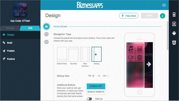 برنامه Bizness Apps