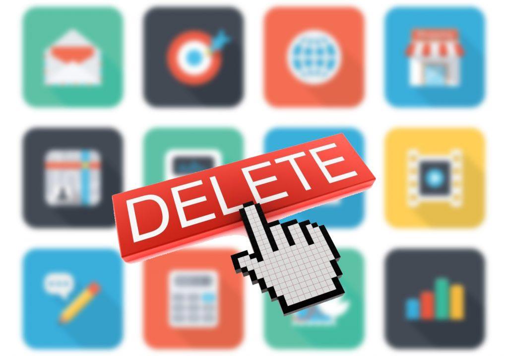 مهمترین دلایل حذف اپلیکیشن