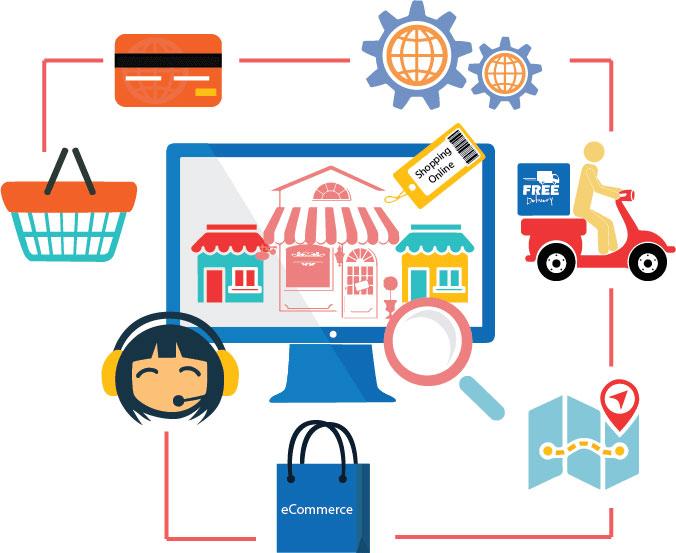 مراحل ساخت فروشگاه آنلاین